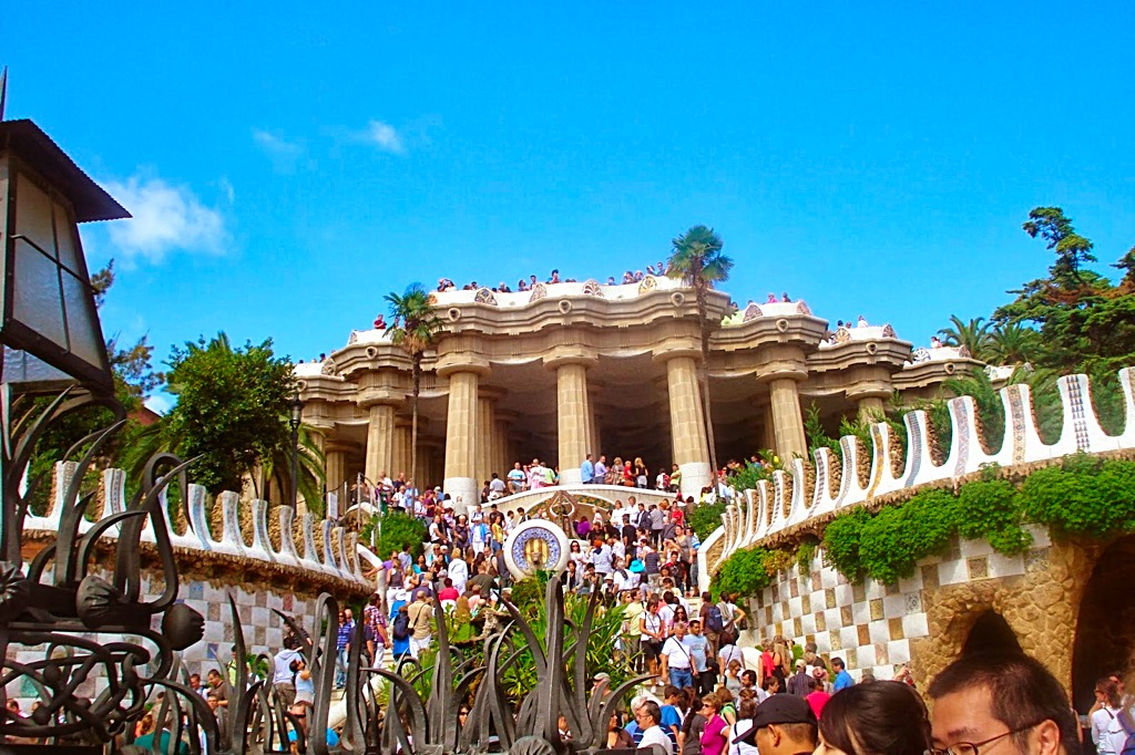 Picture of Park Guell Barcelona Entrance