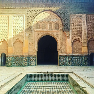 Picture of Ben Youssef Madrasa Marrakech