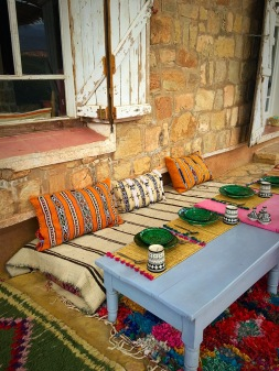 Picture of Berber Village lunch seating