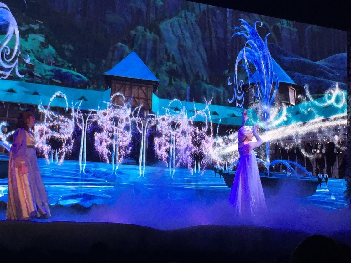 Picture of Frozen singalong live show Hollywood Studios Walt Disney World