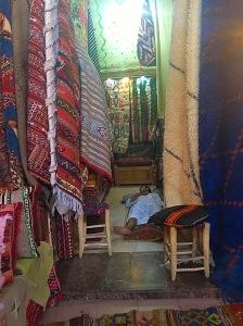 Picture of Marrakech carpet souk