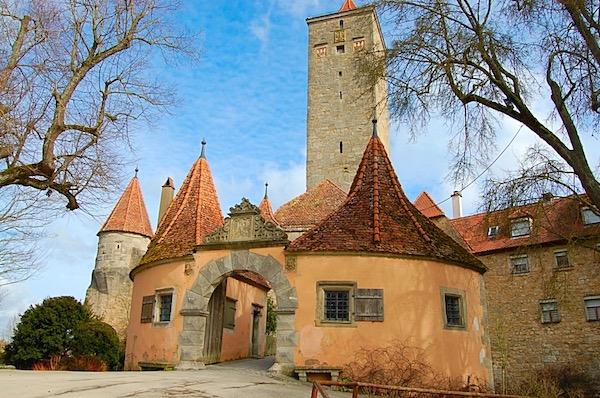 Picture of Rothenburg ob der Tauber Medieval Castle Bavaria
