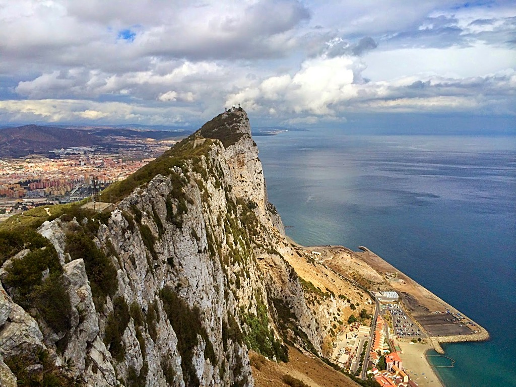 Picture of the rock of Gibraltar