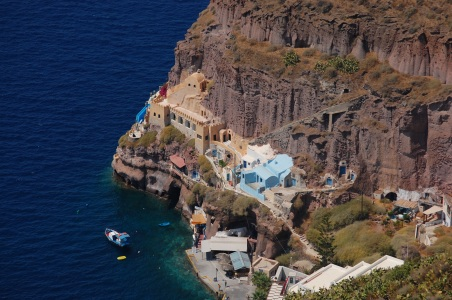 Amazing cliff houses.