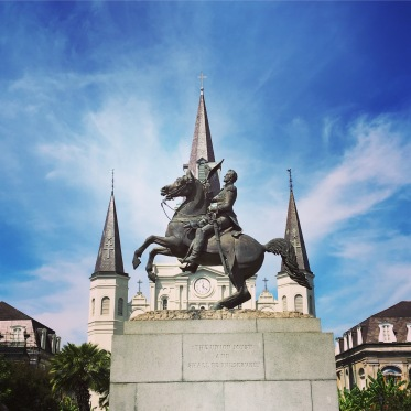 Picture of Andrew Jackson Statue in Jackson Square New Orleans