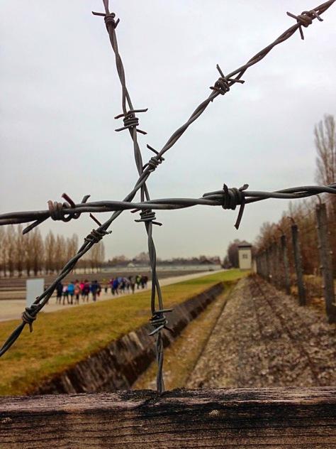 DachauBarbedWireFences_CopyrightLetsTravelWells