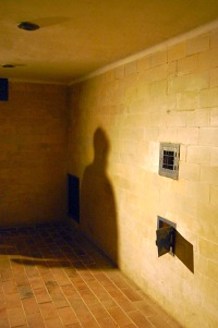 Picture of Gas Chamber Showers at Dachau Concentration Camp