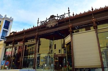 Picture of Mercado de San Miguel exterior in Madrid Spain