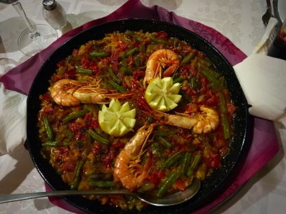 Picture of Spanish Paella in Madrid