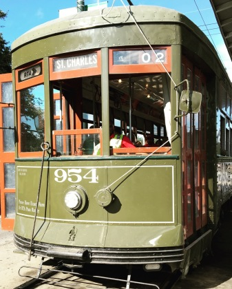 Picture of the St. Charles Streetcar line