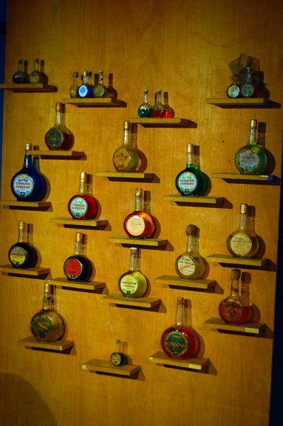 Picture of Blue Curacao in Curacao distillery