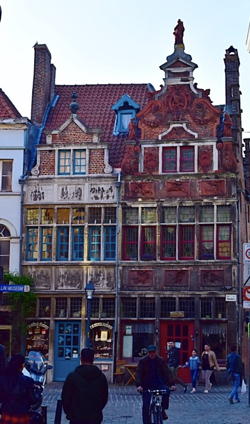 Picture of Ghent Belgium Architecture and Confiserie Temmerman