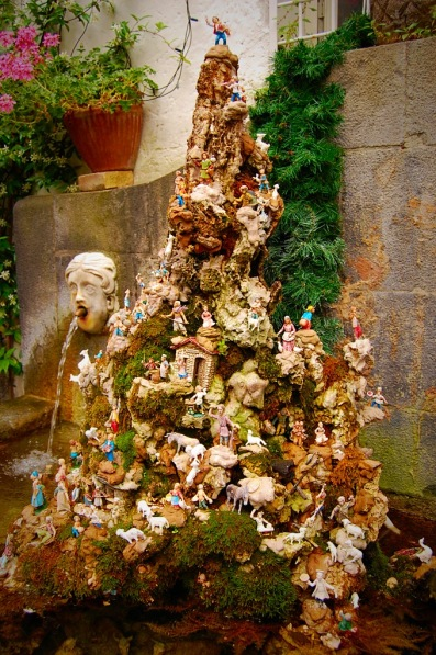 Picture of a Fountain in Amalfi Town