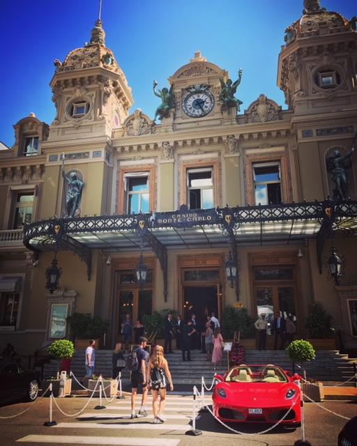 Picture of the Monte Carlo Casino