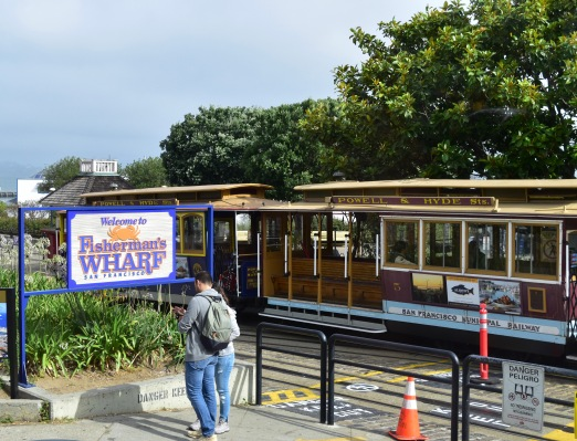 Picture of Powell and Hyde Trolley San Fran