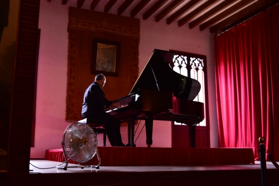 Picture of Pianist Playing