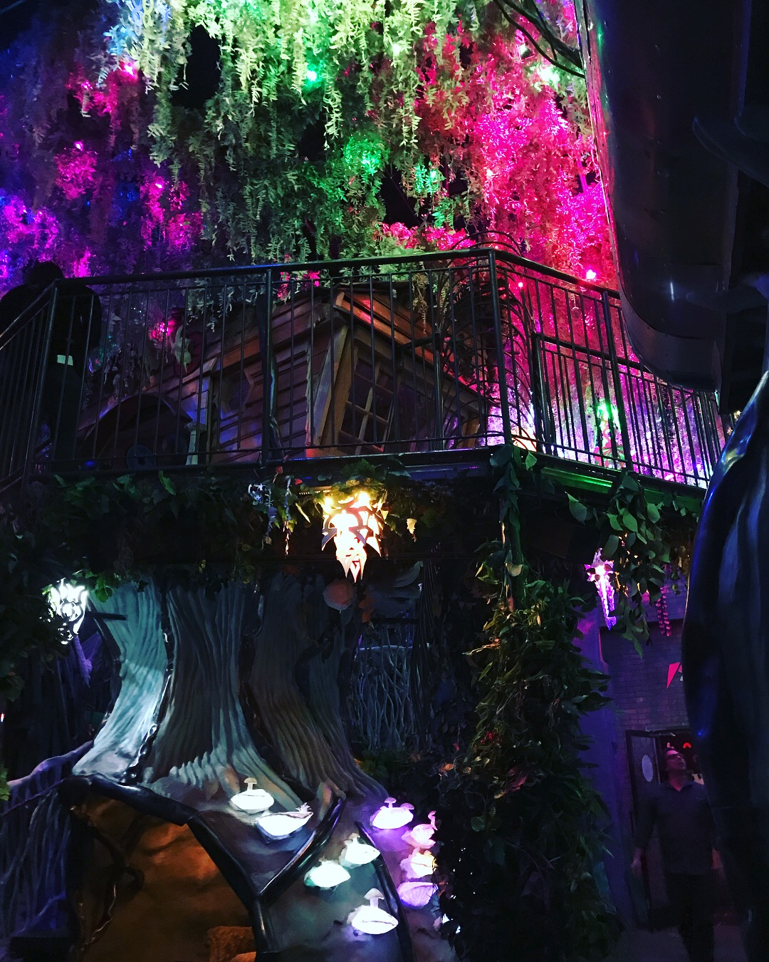 Picture of Tree House from inside Meow Wolf
