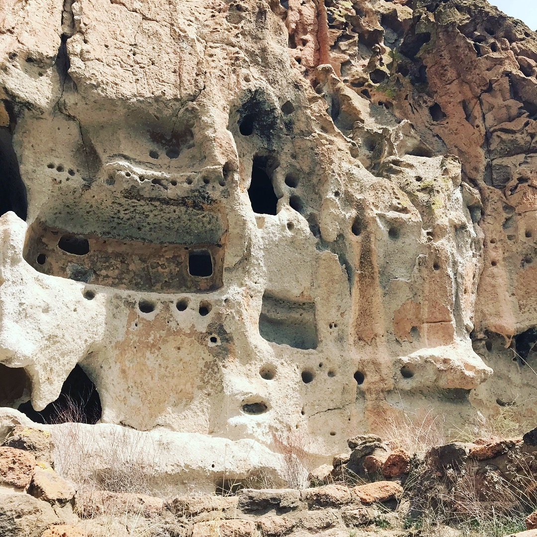 Picture of Cliff Dwellings in New Mexico