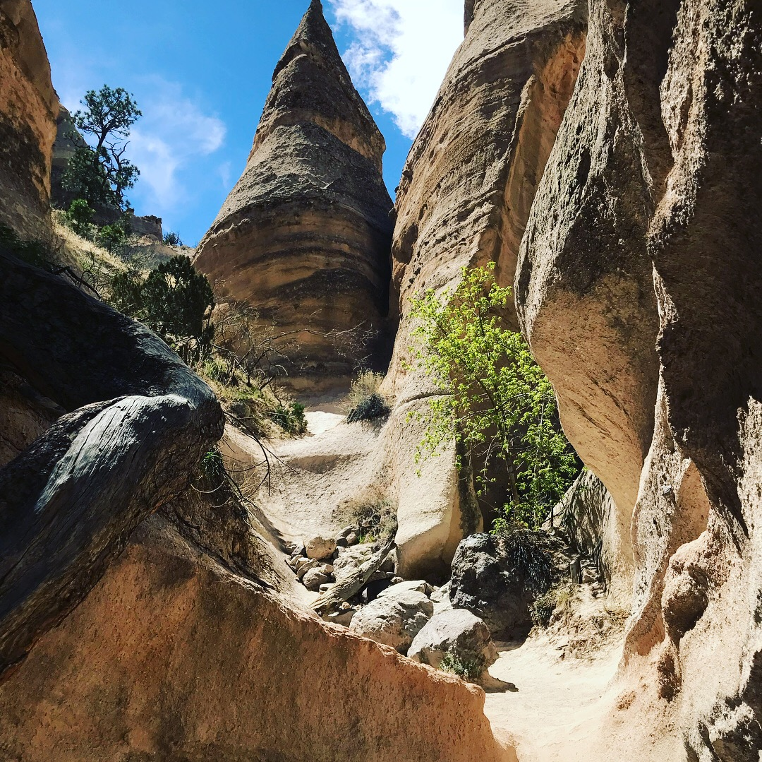 Picture of hiking views at Tent Rocks National Monument